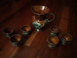 Zestaw dekoracyjny - ceramika