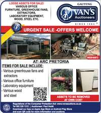 Image of Urgent offers for Various loose assets for sale