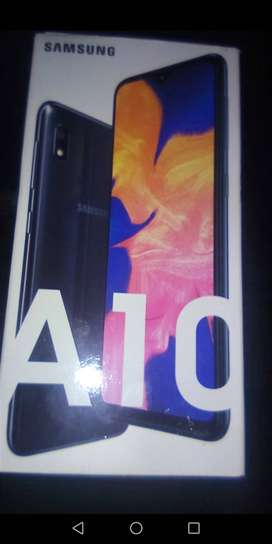 Samsung A10 brand new condition