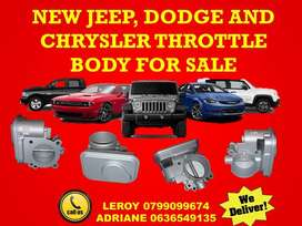 JEEP, DODGE AND CHRYSLER THROTTLE BODY