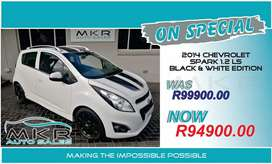 Chevrolet spark 1.2 L.S  black and white edition