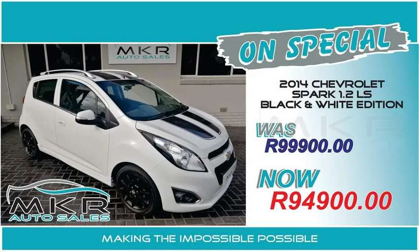 Chevrolet spark 1.2 L.S  black and white edition 0