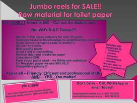 Jumbo reels for Sale direct from Mill