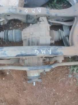 COMPLETE REAR AXLE MERCEDES AMG AVAILABLE