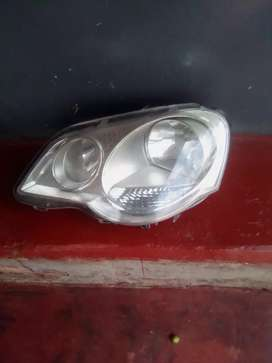 Polo left headlight.