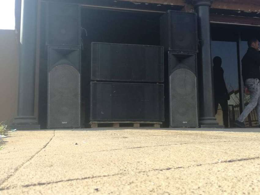 DJ Sound System for Sale / Swop for a good condition car 0