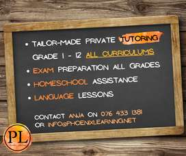 Tutoring for your every need!