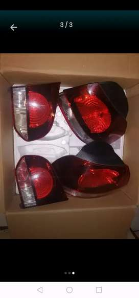 Golf 6gti tail lights plug and play oem no scratches