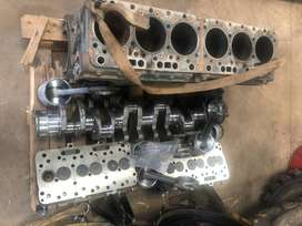 NISSAN / UD PE6T complete engine stripping