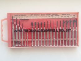 """""""22 Pcs Precision Screwdriver Set""""- набор отвёрток инструмента США"""