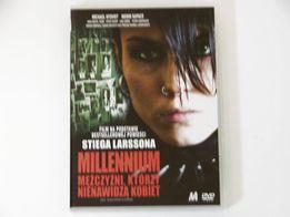 Millennium: Mężczyźni, którzy nienawidzą kobiet (2009) film DVD
