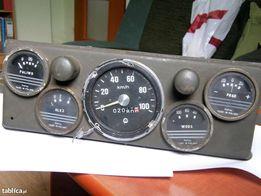 Zegary Star 660 - olej, woda, prąd, paliwo oraz prędkościomierz