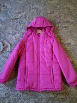 Куртка зимняя, синтепон, на 152 см.