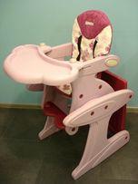 Krzesełko do karmienia; stolik + fotelik
