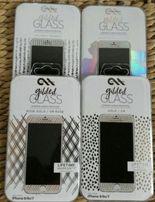 Szkło ozdobne ochronne hartowane 9H iPhone 6, 6s, 7 maksymalna ochrona