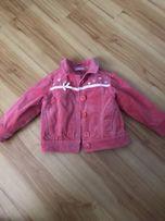 Джинсовая курточка на девочку 3 года Bambi