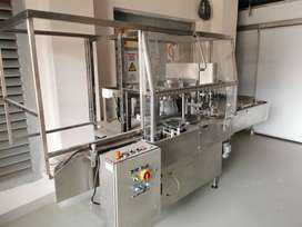 Semi-Automatic Rotary Vial Filling & Stopper/Plug Capping Machine