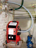 Гидропневматическая промывка батарей радиаторов водопровод. Видеообзор