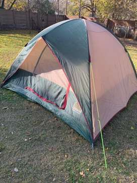 Camp master wedge dome tent