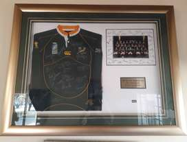 2007 Limited Edition Springbok Jersey 67/100