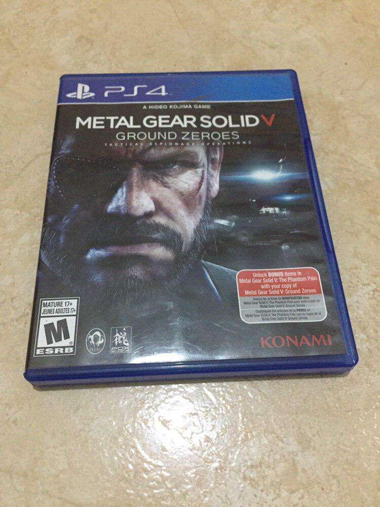 Ps4 Metal Gear Solid V 0