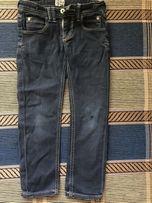 Штаны джинсы темно синие на рост 102-110см