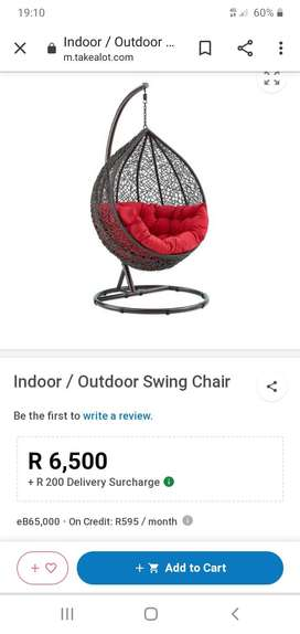 Egg swing chair for sale