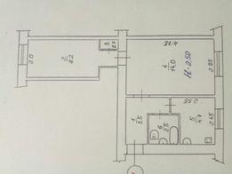 Продам двухкомнатную квартиру с индивидуальным отоплением