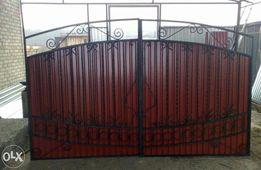 Забор. Калитка, ворота из профлиста, профнастила