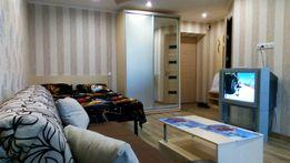 Сдам квартиру-студию посуточно, почасово на пр.А.Поля (Кирова)