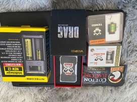 Voopoo Drag with accessories