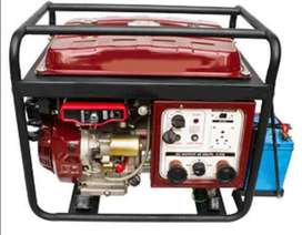 Repairs and services of generator and construction equipment