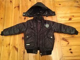 kurtka zimowa z kożuszkiem i kapturem