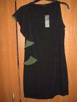 Новое итальянское чёрное платье Sisley. Размер XS/S