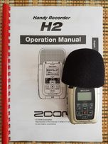 Przenośny rejestrator cyfrowy ZOOM H2