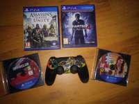 Image of PlayStation 4 Games + Controller Combo