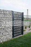 Gabion gabiony kosz siatka ogrodzenie gambinowe gambionowe gabionowe