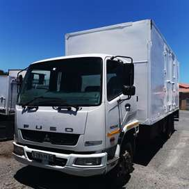 2011 Fuso FK13 -240 8 ton enclosed truck