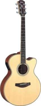 yamaha cpx700 full body acoustic/electric guitar, used for sale  South Africa