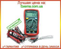 Качественный цифровой мультиметр Uni-t UT33C+ с термопарой