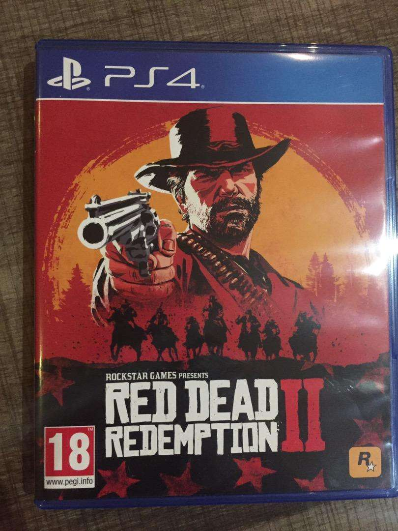 Red dead redemption 2 PS 4 0
