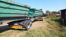 TRUCKS FOR HIRE. ( 34 TON SIDE TIPPERS)