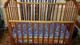 Продам кровать Верес Соня ЛД 7 с матрасом кокос и постелькой с защитой