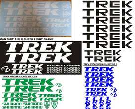 TREK frame decals stickers graphics kits