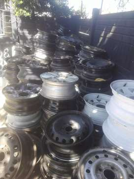 Various stardard Steal rims all sizes