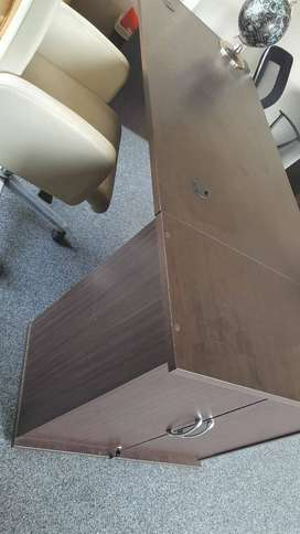 Second Hand Mahogany office furniture