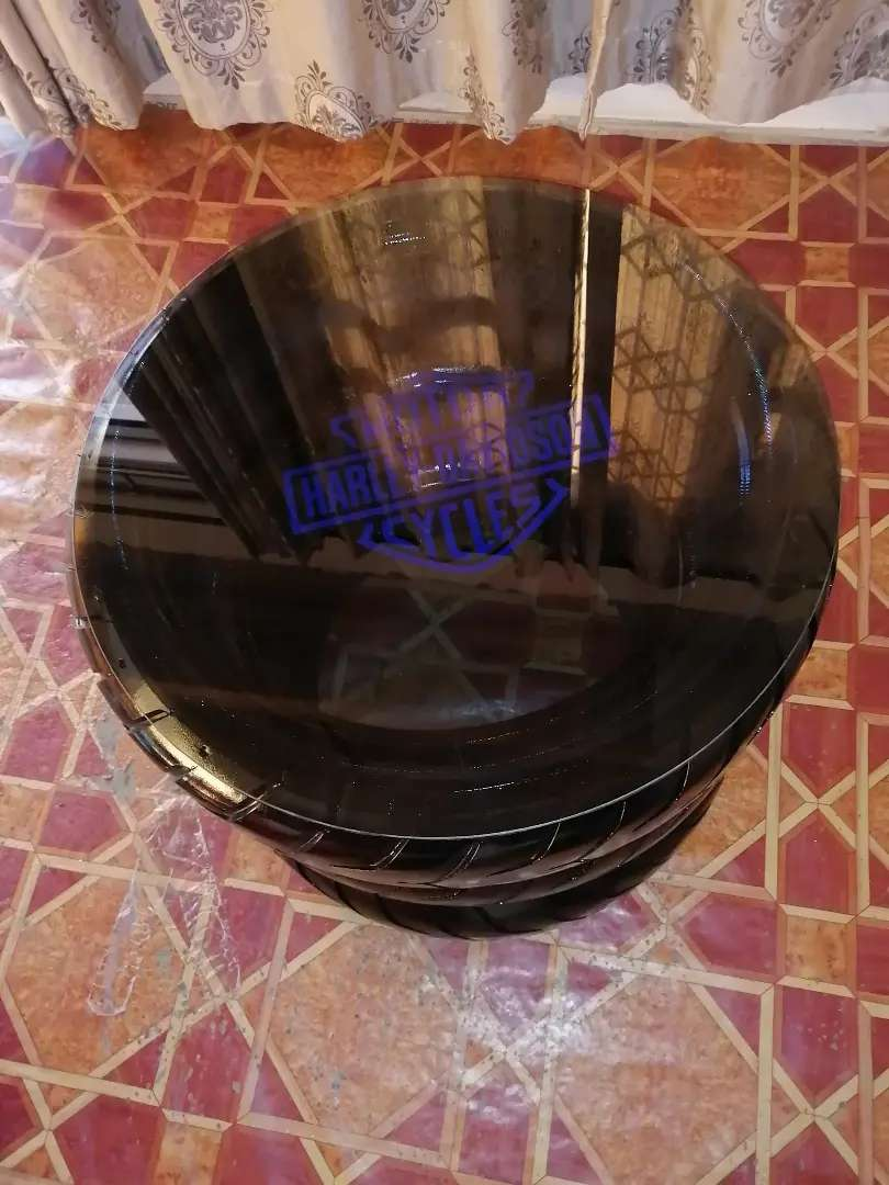 4 piece Tyre coffee table 0