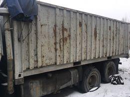 Кузов контейнер с фитингами