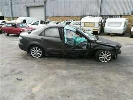Breaking up Mazda 6 for spare parts