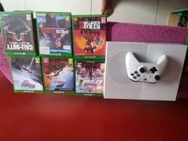 Xbox 1s 1tb with 6 Games